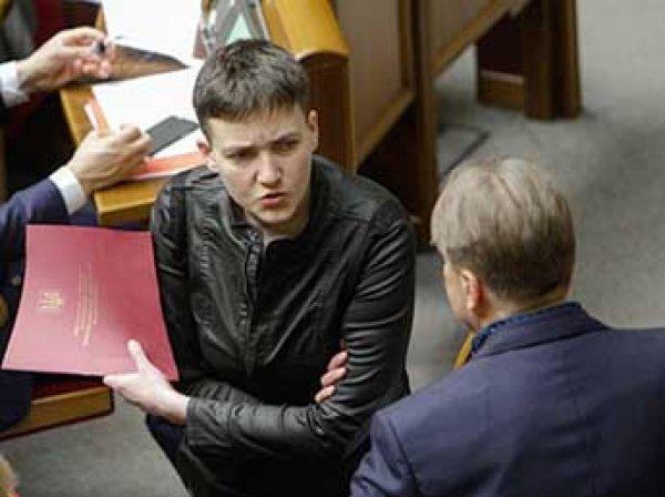 Савченко отборным матом рассказала о работе в Раде Украины