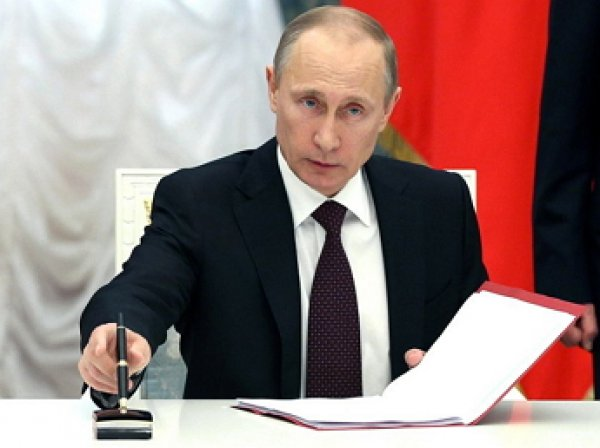 Путин увеличил штат Вооруженных сил России