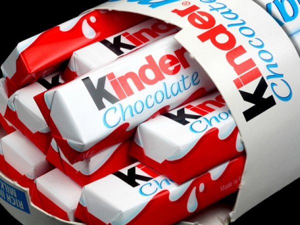 В шоколаде Kinder нашли вещества, вызывающие рак