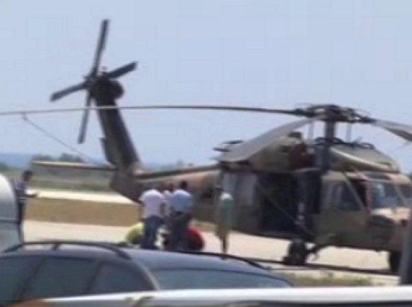 Греция вернула Турции захваченный мятежниками вертолет