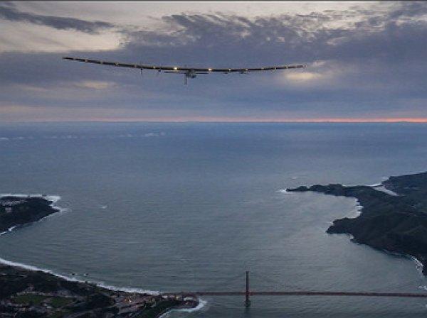 Самолет на солнечных батареях завершил кругосветный полет (ВИДЕО)