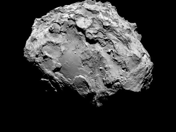На поверхности кометы Чурюмова-Герасименко уфологи обнаружили космический корабль (ФОТО)