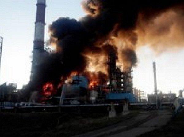 Пожар на НПЗ «Башнефти» в Уфе унес жизни 5 человек