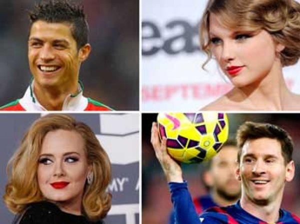 Роналду вошел в ТОП-5 самых высокооплачиваемых знаменитостей