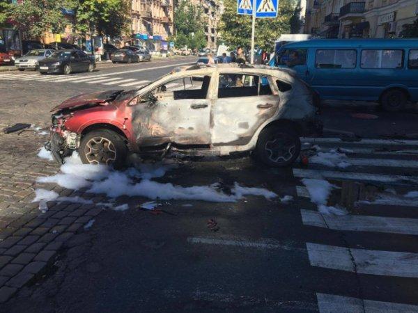 В Сети появилось видео закладки взрывчатки в авто Павла Шеремета (ВИДЕО)