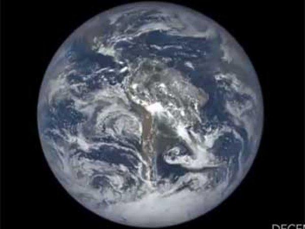 НАСА показало год жизни Земли в трехминутном ВИДЕО