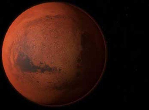 Ученые расшифровали надпись на поверхности Марса