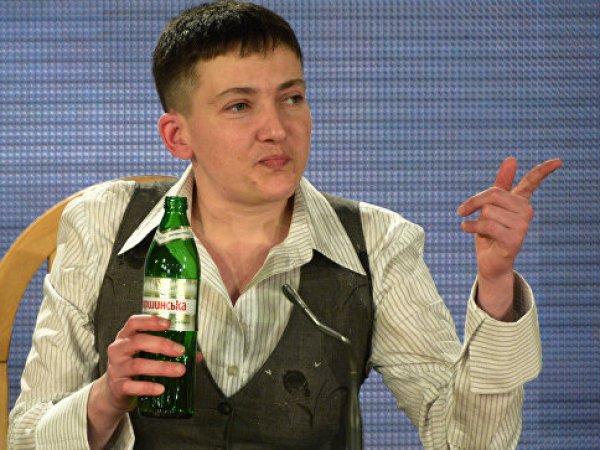 Надежда Савченко провела выходной на корабле ВМС США (ФОТО)