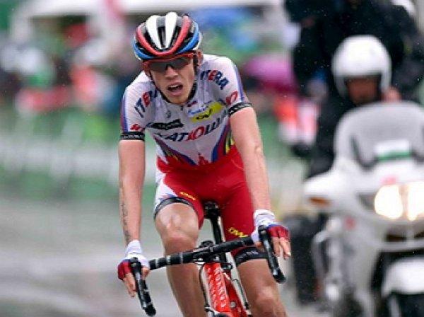"""Российский велогонщик впервые с 2009 года выиграл этап """"Тур де Франс"""""""