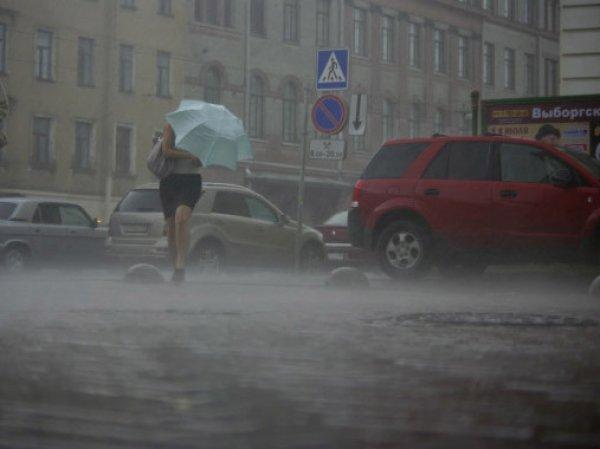 Ливень в Санкт-Петербурге 26 июля 2016: местами прошел град (ФОТО, ВИДЕО)