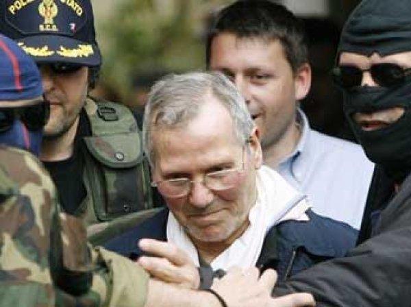 """В Италии умер босс сицилийской """"Коза ностры"""" Бернардо Провенцано"""