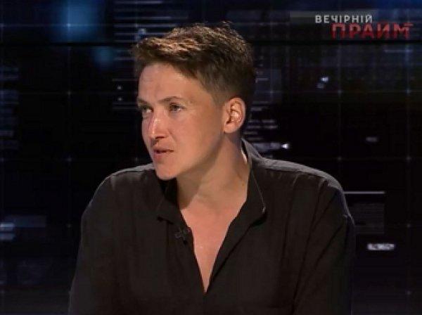 Савченко объяснила, почему не может отказаться от звания Героя Украины