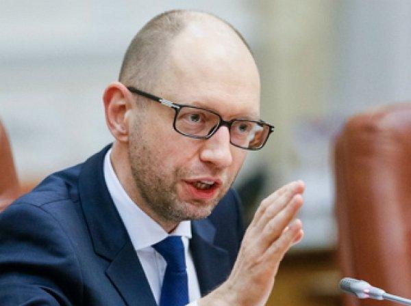 Яценюк назвал высказывание Трампа по Крыму преступлением