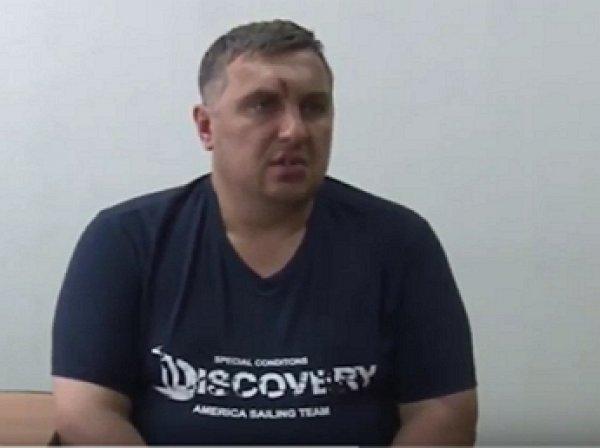 Обнародовано видео допроса украинского диверсанта в Крыму