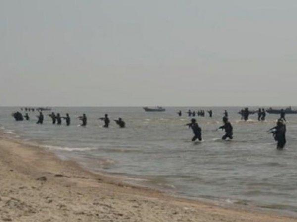 Опубликовано ВИДЕО высадки морского десанта ДНР