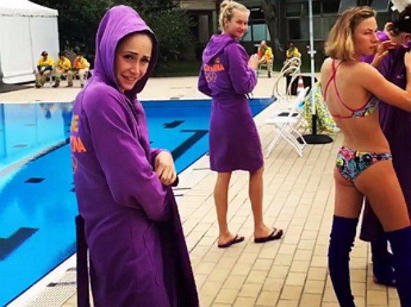"""Видео """"стриптиза"""" украинской синхронистки в Рио взорвало соцсети"""