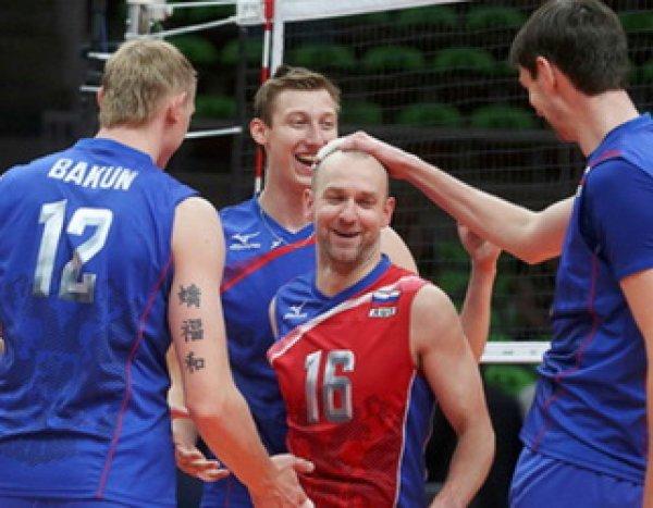 Россия - Польша, волейбол 2016, мужчины: счет 3:2 в пользу россиян (ВИДЕО)