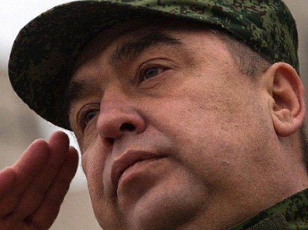 В Луганске подорвали машину главы ЛНР Плотницкого