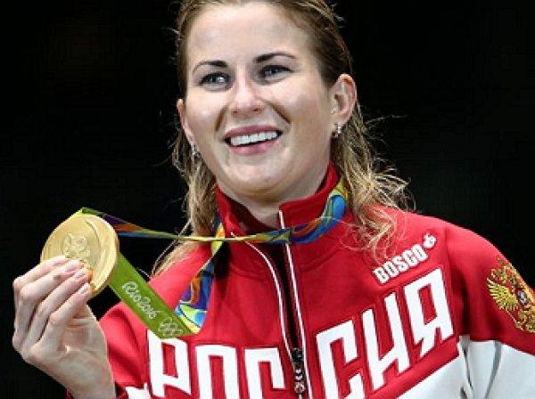 Рапиристка Инна Дериглазова принесла России четвертое золото