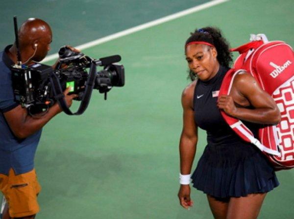 Серена Уильямс сенсационно проиграла украинке и вылетела с олимпийского турнира в Рио