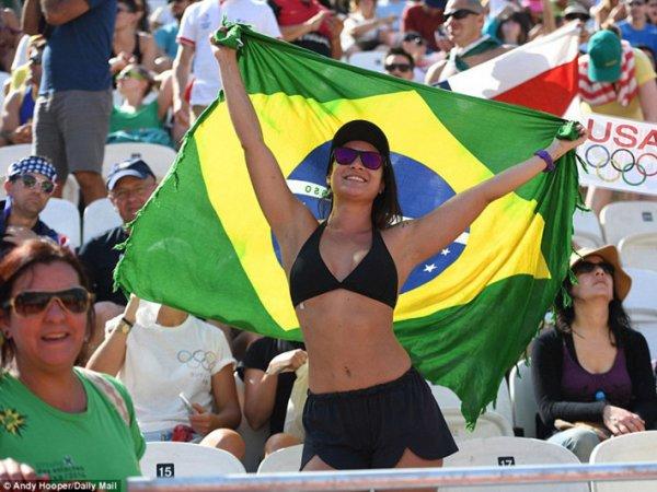 Бразилия – Аргентина, волейбол 2016, мужчины: счет 3:1 вывел хозяев в полуфинал Олимпиады 2016