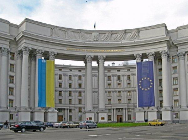 Киев направил ноту российскому МИДу из-за визита Путина в Крым