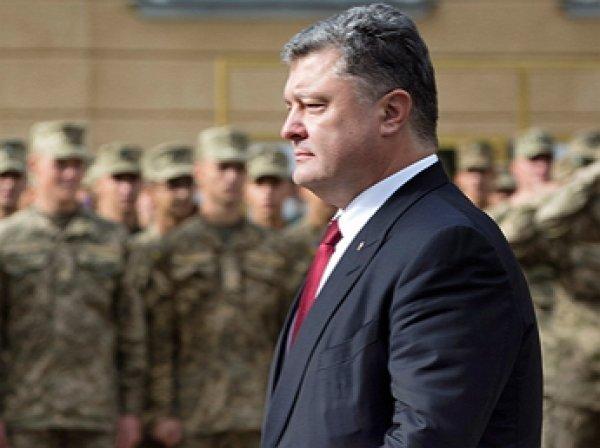Порошенко готов объявить военное положение в Украине