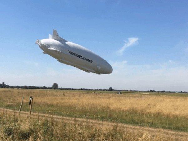 Крушение самого большого воздушного судна в мире попало на ВИДЕО