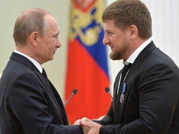 Путин и Кадыров встретились ночью в Кремле