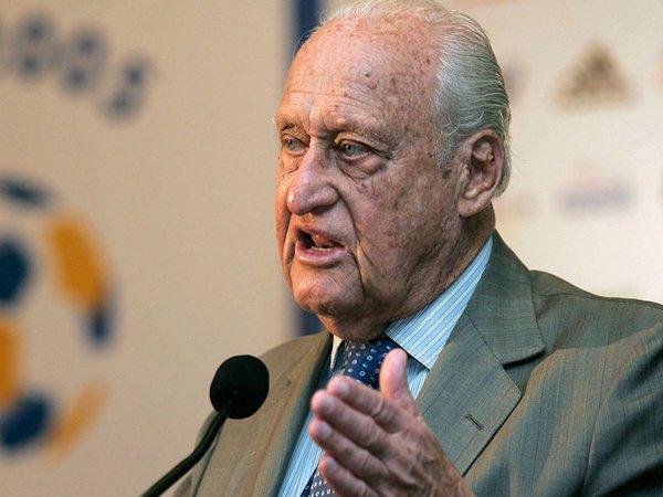 Бывший глава ФИФА Жоао Авеланж умер в возрасте 100 лет