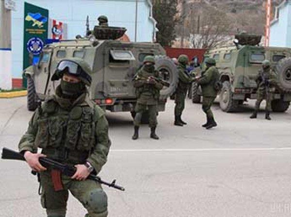 На Украине рассказали о перестрелке между российской армией и ФСБ в Крыму