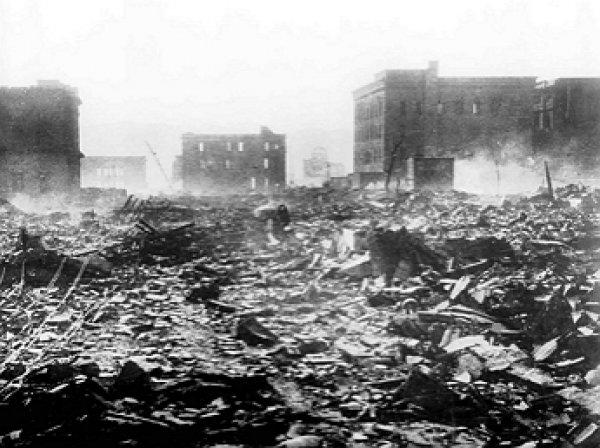 В Сети появилось неизвестное шокирующее видео Хиросимы после атомного взрыва