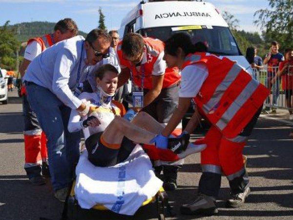 Велосипедистка из Нидерландов сломала позвоночник на Олимпиаде в Рио