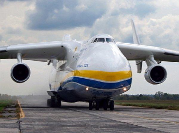 """Украина передала Китаю права на самый большой в мире самолет """"Мрия"""""""