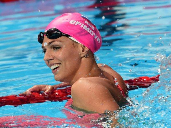 Россиянка Юлия Ефимова вышла в финал Олимпиады в плавании на 100 метров брассом