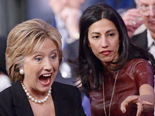 СМИ: помощница Клинтон – радикальная исламистка