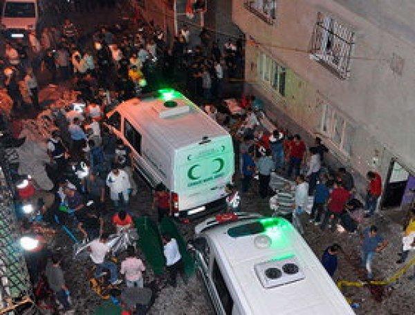 ВИДЕО взрыва на свадьбе в Турции опубликовано в Сети (ВИДЕО)