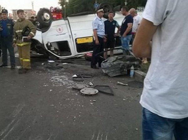 В Стерлитамаке произошло смертельное ДТП: момент аварии попал на камеры видеонаблюдения