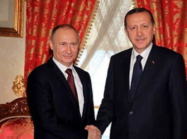 Встреча Путина и Эрдогана 9 августа состоялась в Санкт-Петербурге (ВИДЕО)