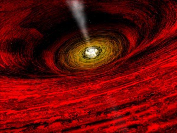 Ученые рассказали, куда попадают поглощенные черными дырами объекты