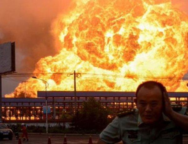 При взрыве на заводе Китая погиб 21 человек (ФОТО)
