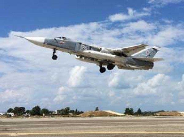 Российские ракетоносцы Ту-22МЗ разбомбили объекты ИГИР в районе Ракки (ВИДЕО)