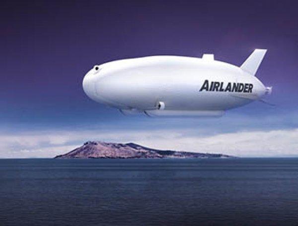 В Великобритании запустили самое большое в мире воздушное судно (ВИДЕО)