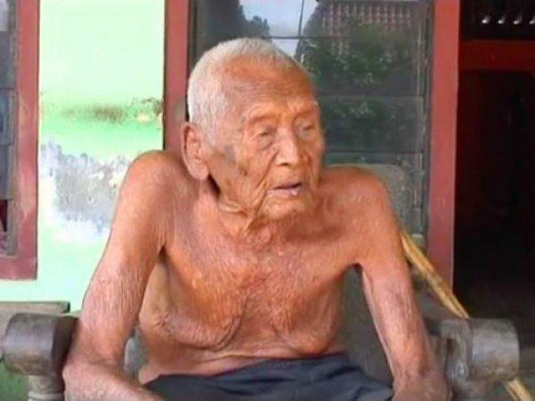 В Индонезии найден старейший житель земли возрастом 145 лет (ВИДЕО)