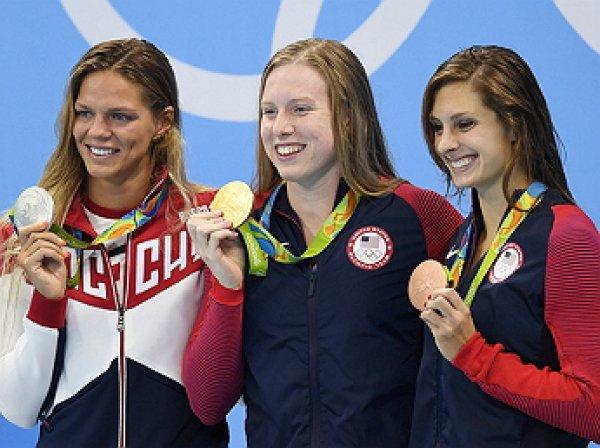 Американская пловчиха Лилли Кинг извинилась перед россиянкой Юлией Ефимовой