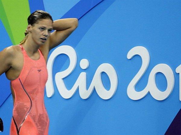 Олимпийские игры в Рио-де-Жанейро: Юлия Ефимова стала серебрянным призером на 100-ке брассом