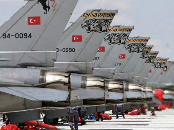 ВВС Турции ударили по боевикам ИГИЛ в Сирии (ВИДЕО)