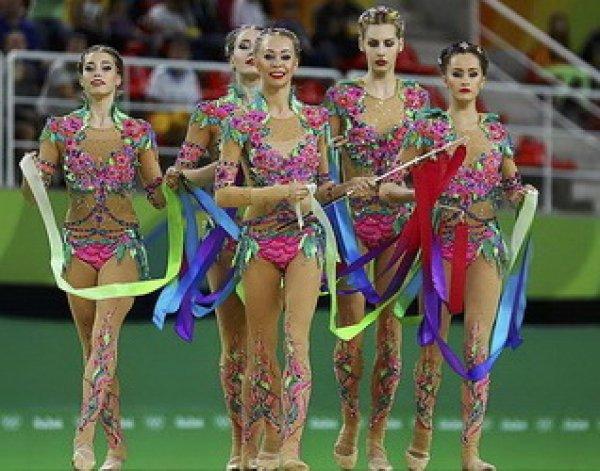 Олимпиада 2016 в Рио: «золото» в художественной гимнастике обеспечило России 4-е место ОИ-2016