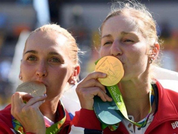 Медальный зачет олимпиады 2016, таблица медалей: российские теннисистки Макарова и Веснина завоевали золото Олимпиады в Рио