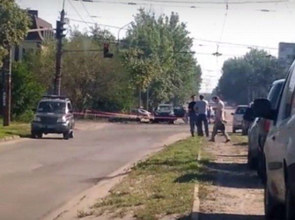 Опубликовано ВИДЕО с места взрыва машина главы ЛНР Плотницкого